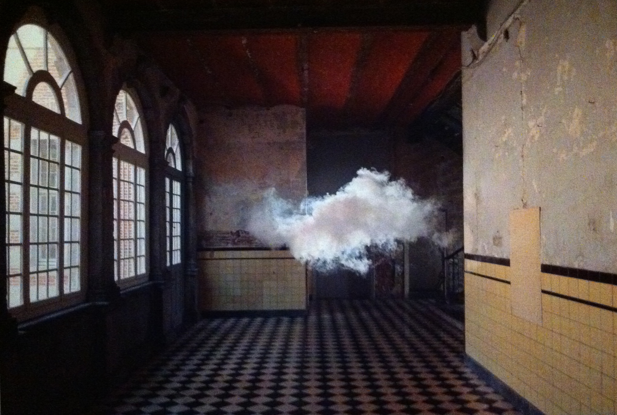 picture of a floating cloud