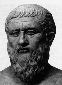 sculpture of Plato