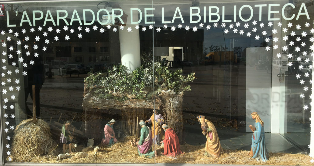The Pessebre at the Blanes Library
