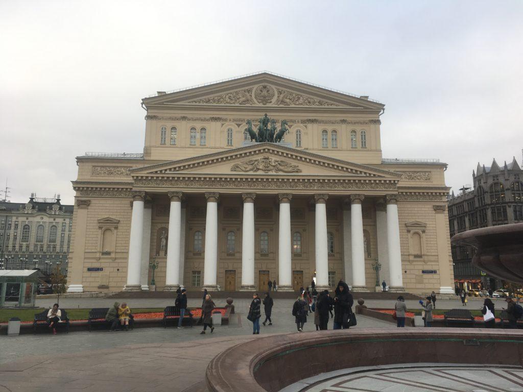 The Bolshoi with flying horses