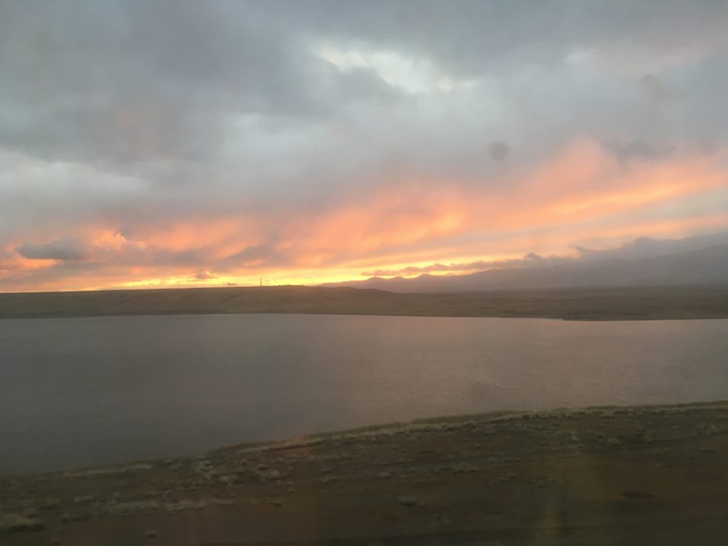 Now that's a sunset in the Selenginskiy rayon