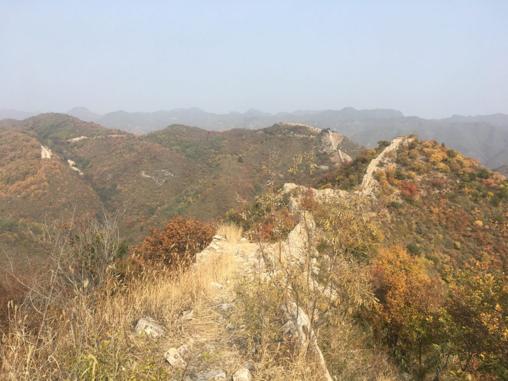 Unrestored Great Wall crumbles slowly away