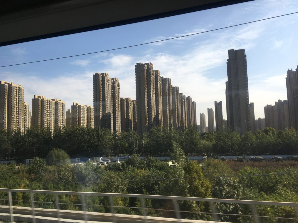 Housing on way to Jinan