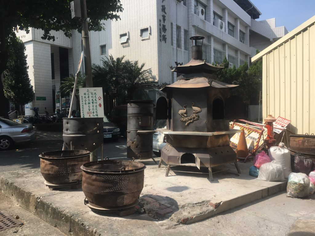 Tainan burners - outdoor heating in the tropics?