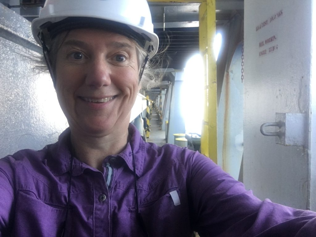 Stylish hardhat CC Coral and me