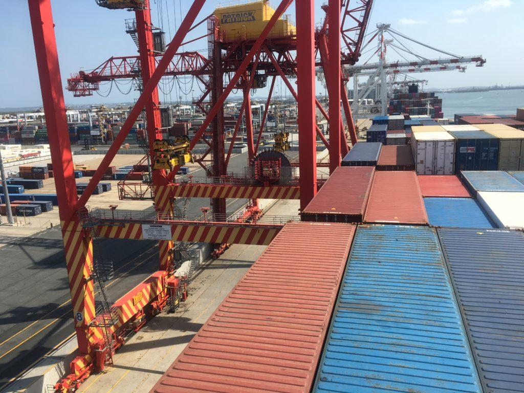 CC Coral visiting Brisbane port