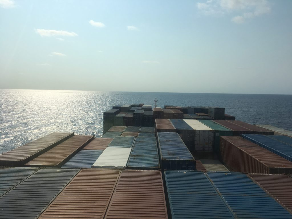 New day in the Coral Sea from CC Coral Bridge