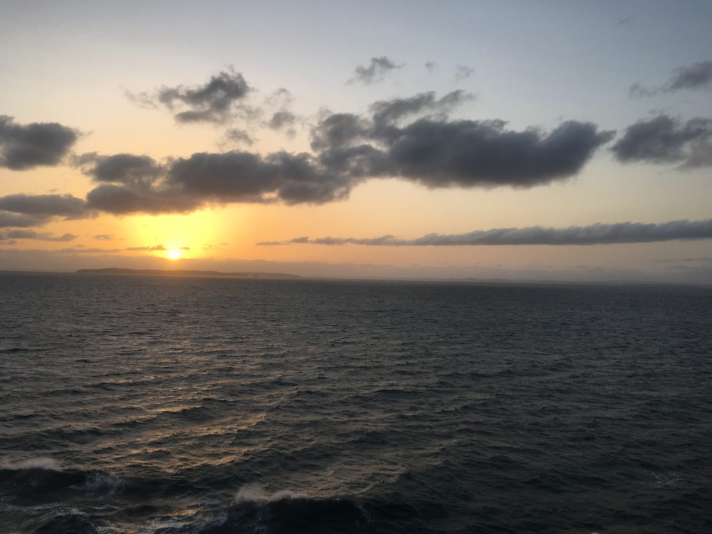 NZ sunset north of Auckland from CC Coral