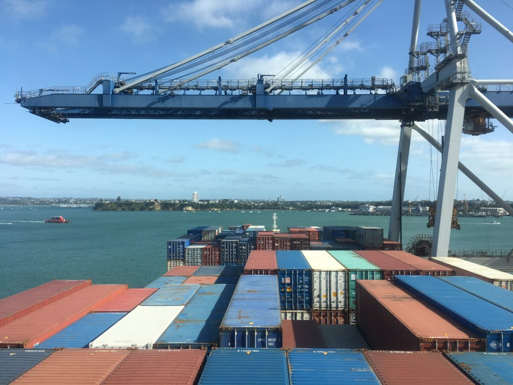 The Ports of Auckland and CC Coral
