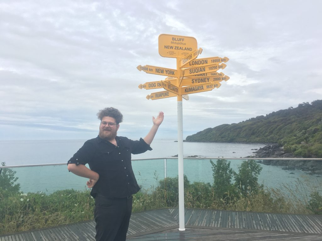 The end of the South Island - not far from any home