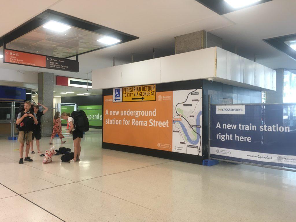 Roma Street Station, Brisbane, is being revitalised!